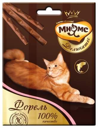 Лакомство для кошек Мнямс Деликатес, форель, 0,012кг