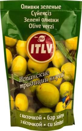 Оливки ITLV с косточкой 195 г