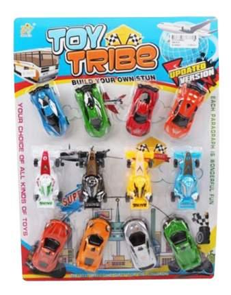Игровой набор Гоночные машины 12 шт Shenzhen Toys В80108