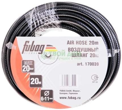 Шланг для пневмоинструмента FUBAG 20бар 6x11мм 20м 170039