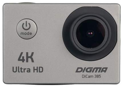 Экшн камера Digma DC385 Grey