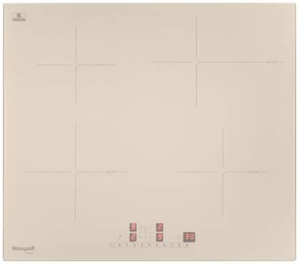 Встраиваемая варочная панель индукционная Weissgauff HI 641 GS Beige