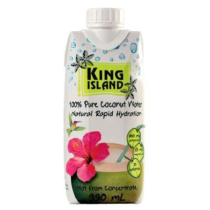Вода кокосовая 100%  King Island  без сахара 330 мл