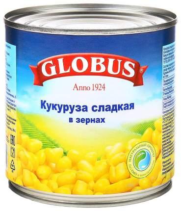 Кукуруза Globus сладкая в зернах в вакуумной упаковке 340 г