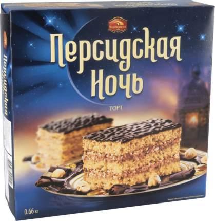 Торт песочный персидская ночь Черемушки с фундуком 660 г