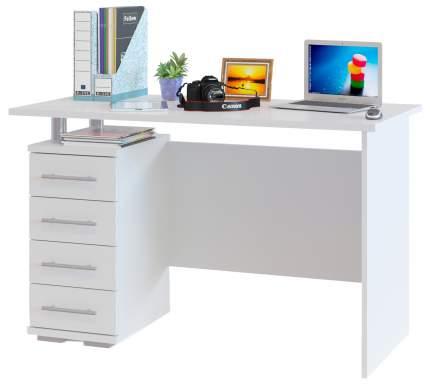 Компьютерный стол СОКОЛ КСТ-106.1, белый