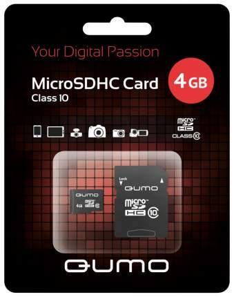 Карта памяти Qumo Micro SDHC QM4GMICSDHC10 4 GB
