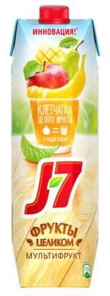 Нектар мультифрукт J7 фрукты целиком 0.97 л