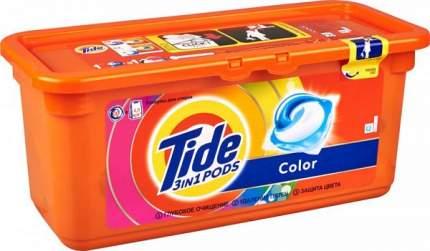 Жидкость для стирки Tide в растворимых капсулах color 30*24.8 г