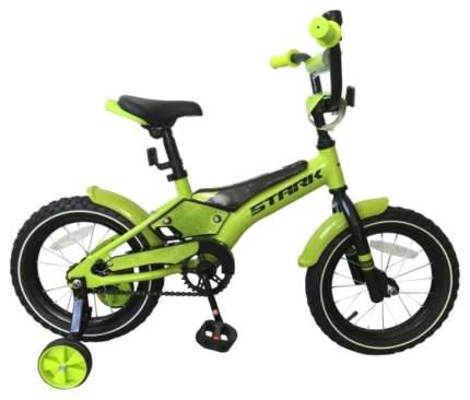 Велосипед двухколесный Stark Tanuki 14 Boy 2019 Зеленый/Черный
