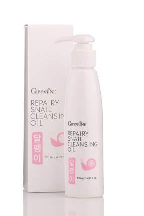 Очищающеe и восстанавливающее масло с фильтратом улитки от Giffarine