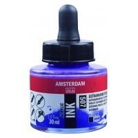 Акриловые чернила Royal Talens Amsterdam №507 ультрамарин фиолетовый 30 мл