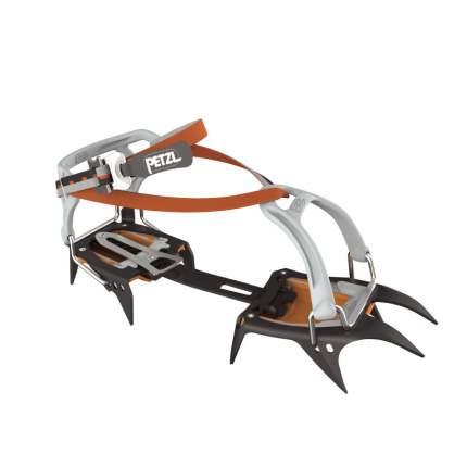Кошки Petzl Irvis Flex Lock оранжевые/черные 36/46