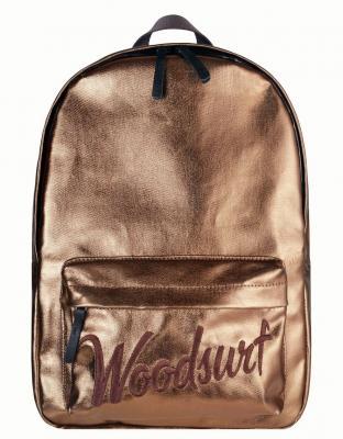 Рюкзак /WOODSURF/ EXPRESS Academy, коллекция NIGHT LIFE, канвас, моно металлик золотой