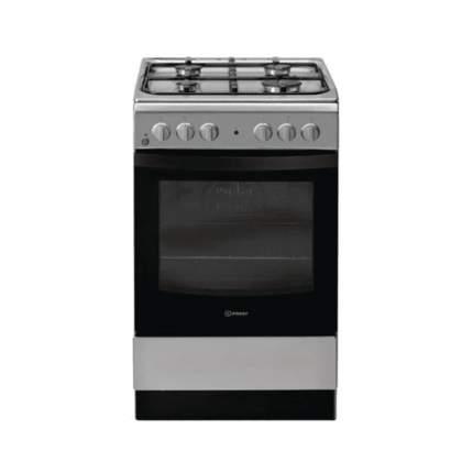Комбинированная плита Indesit IS5G4KHX/RU Grey