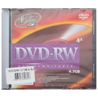 Диски DVD-RW VS, 4,7Gb, 4x, VSDVDRB5001, 5 штук
