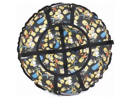 Тюбинг Hubster Люкс Pro Симпсоны Black 120 см