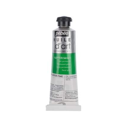 Масляная краска Pebeo Super fine d'Art №1 зеленый перманентный 014142 37 мл