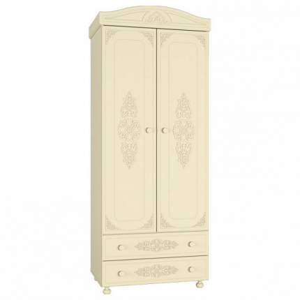 Платяной шкаф Компасс-мебель Ассоль плюс АС-02 KOM_AC02_1_plus 83,2x51,6x206, ваниль