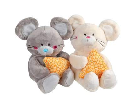 Мягкая игрушка животное Fluffy Family Мышонок Мики с сыром 681602