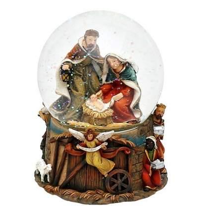 Шар на ель Sigro Новый год 11 см 50-1071