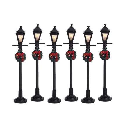 Lemax Набор статуэток «Рождественские уличные фонари», 11 см