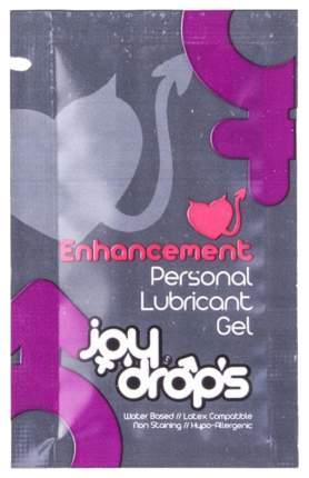 Пробник возбуждющей смазки JoyDrops Enhancement на водной основе для женщин 5 мл