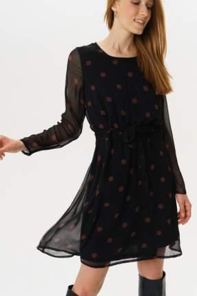 Платье женское ICHI 20109909 черное S