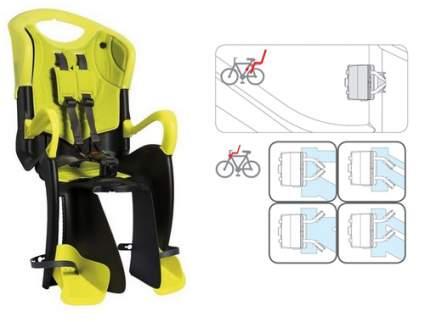 Детское велокресло заднее Bellelli Tiger Standard B-Fix/Hi-Viz желтое/черное