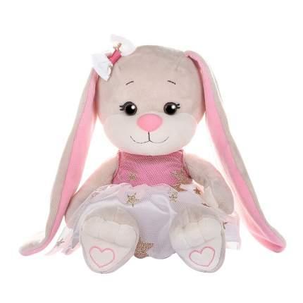Зайка Jack&Lin в Бело-Розовом Платьице со Звездочками, 20 см, в Коробке (JL-250-20)
