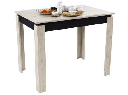 Маленький кухонный стол из дерева МО РОСТ Стол обеденный  Премьера Пикард / Черный