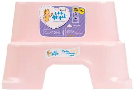 Детский табурет-подставка, розовый