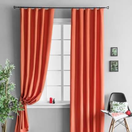 Комплект штор Molly Тафта Оранжевый 155x270 см