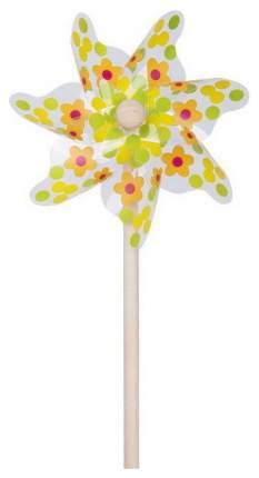 Ветрячок ЯиГрушка Цветы и горошек 31 см
