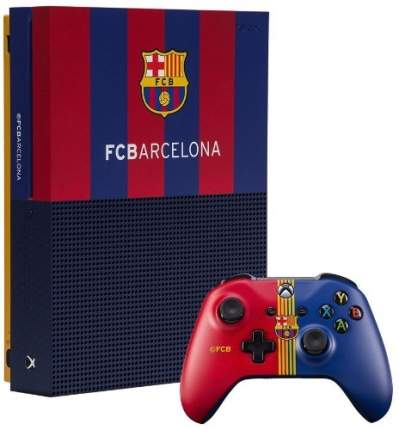 "Игровая консоль Sony PlayStation4 Rainbo 1 ТB ""Барселона. Камп Ноу"""