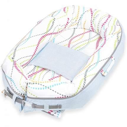 Кокон-гнездышко для новорожденных Little Vi Дерби BN-0078
