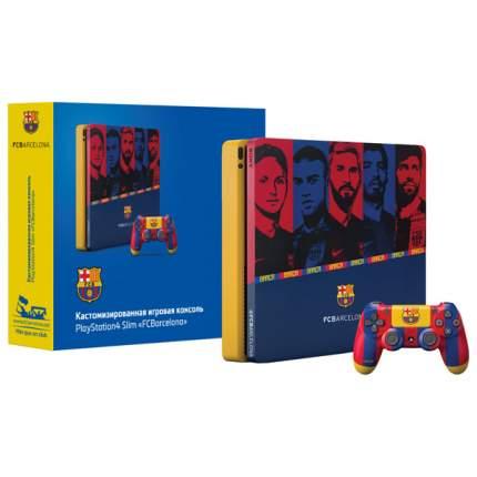 "Игровая приставка Sony PlayStation4 Rainbo 1 ТB ""Барселона. Камп Ноу"""