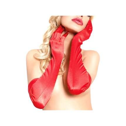 Перчатки длинные SoftLine Collection, красный, S/L 770230
