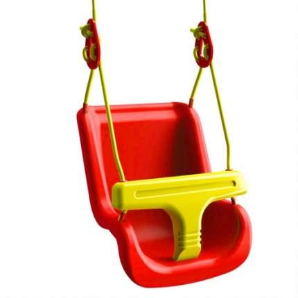 Качели Leco для малышей, красные