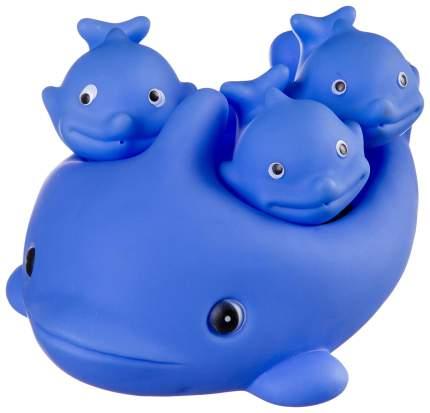 Набор игрушек для купания Bondibon Дельфин с дельфинчиками ВВ2753