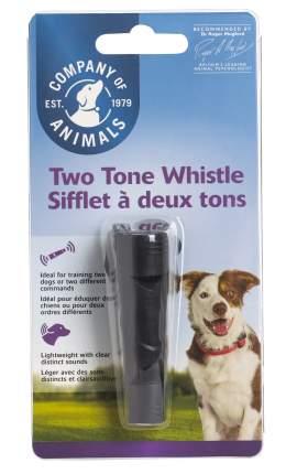 Свисток для собак Company of Animals, двухтональный, пластик