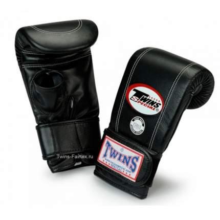 Боксерские перчатки Twins TBGL 3H черные 6 унций