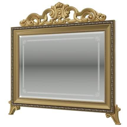 Зеркало с короной Мэри-Мебель Версаль СВ-08К, слоновая кость, 97х6х99 см