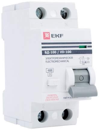 Устройство защитного отключения EKF elcb-2-40-100-em-pro