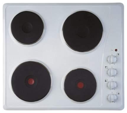 Встраиваемая варочная панель электрическая Indesit TI 60 W White