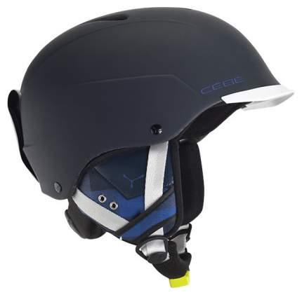 Горнолыжный шлем Cebe Contest Visor 2017, синий, XL
