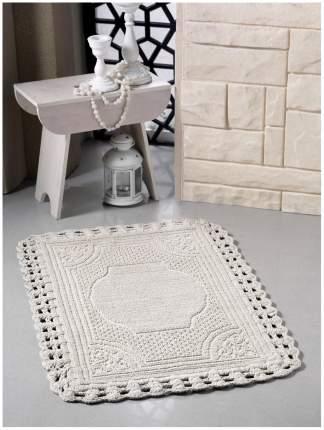 Коврик для ванной Modalin Flora modl375899: Бежевый