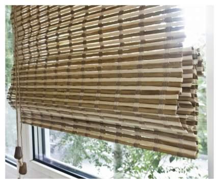 Римская штора Эскар Pneuma 160х90 цвет светло-коричневый