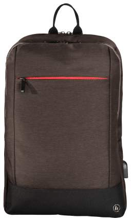 """Сумка для ноутбука Hama Manchester для 17,3"""" коричневая 00101893"""