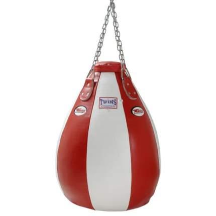 Боксерская груша Twins Special PPL 80 x 80, 37 кг красно-белая